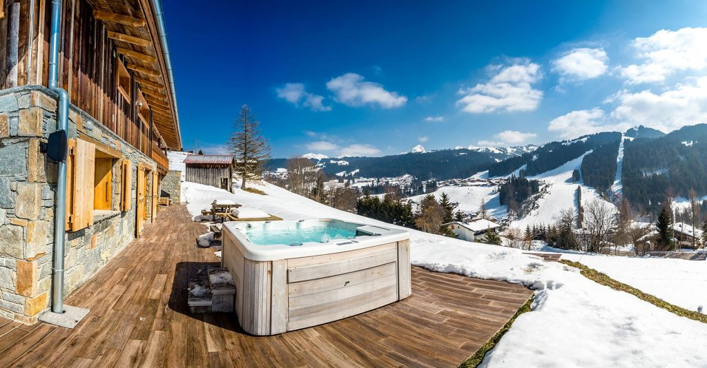 Chalet in French Alps