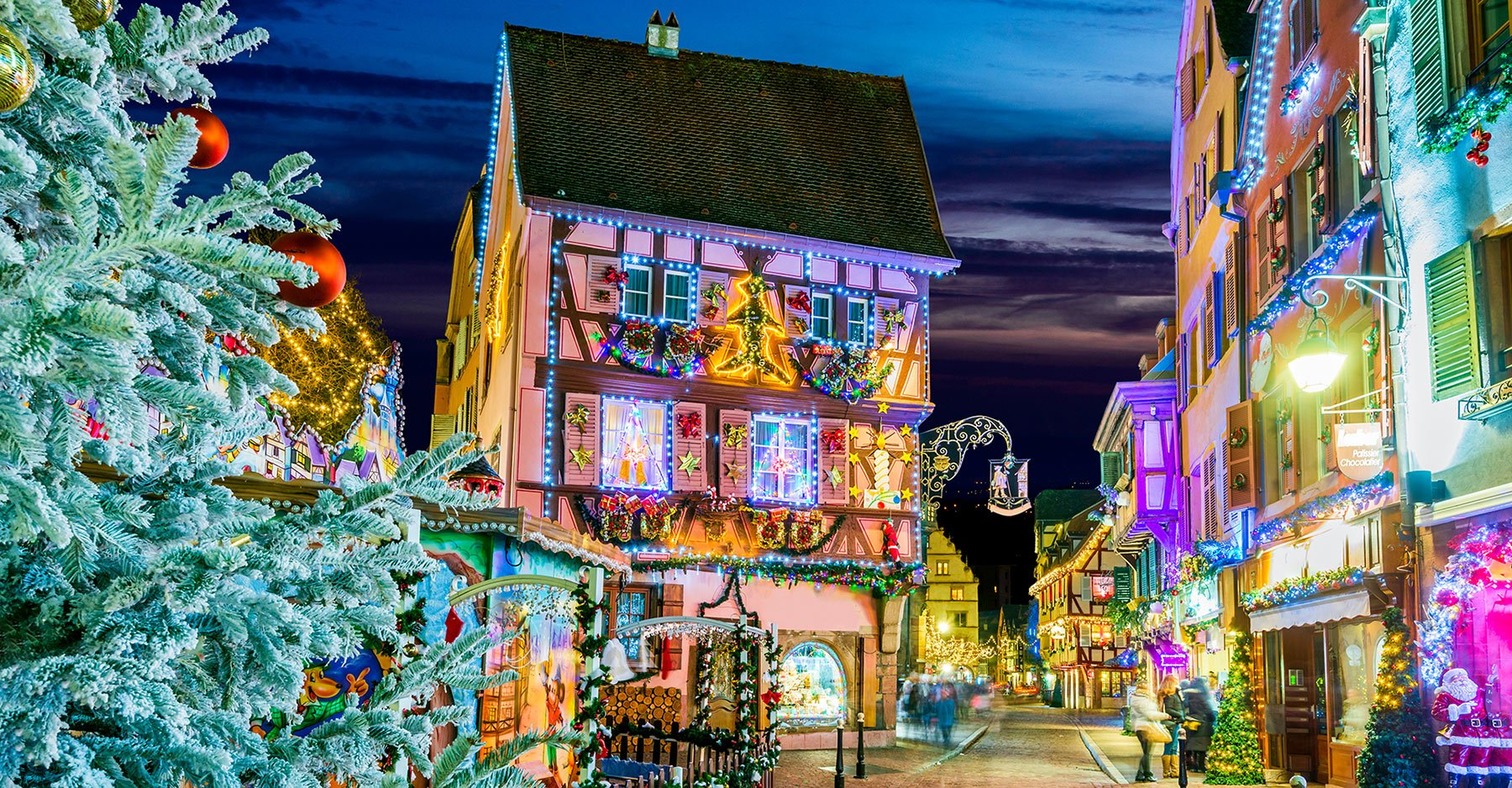 Christmas market in Alsace