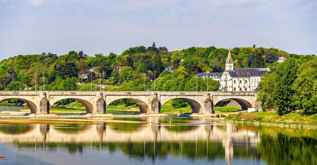 landscape of loire valley