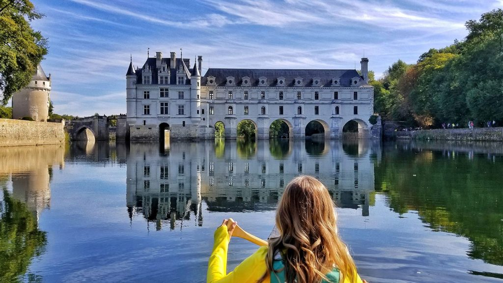 Canoeing in Loire Valley