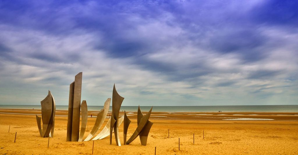 beach of normandy