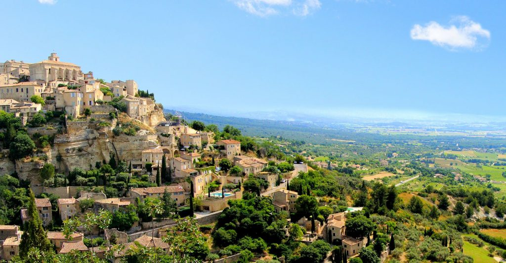 authentic village of provence